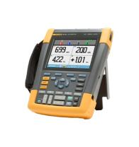 Fluke 190-104/AM/S 4 Channel LCD Color ScopeMeter Oscilloscope with SCC290 Kit, 100 MHz Bandwidth, 3.5ns Rise time
