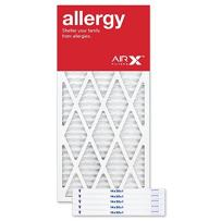 AIRx Filters 14x30x1 Air Filter MERV 11 Pleated HVAC AC Furnace Air Filter, Allergy 6-Pack, Made in the USA