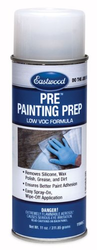 Eastwood Low VOC Silicone Wax Polish Grease Remover Pre Paint Aerosol 12 Oz