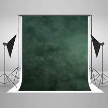 Kate 10×10ft Green Backdrop Abstract Muslin Dark Green Background Gradient Portrait Backdrop for Photographer Headshot Microfiber Photo Studio Props