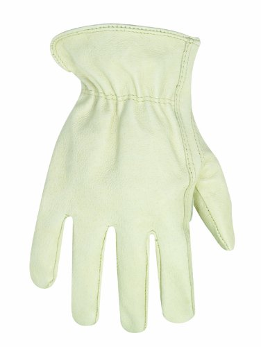 CLC Custom Leathercraft 2069L Top Grain Pigskin Driver Gloves, Large