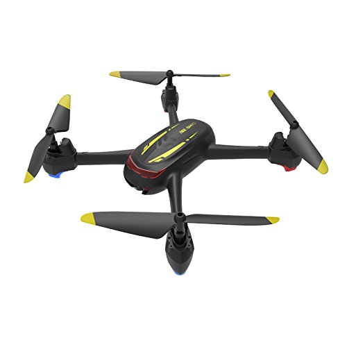SH2 Quadcopter RC Drone with 1080P HD Camera, Live Video, One Key Take Off/Land, Headless Mode, Speed Control Perfect for Adults Beginners and Kids (Black)
