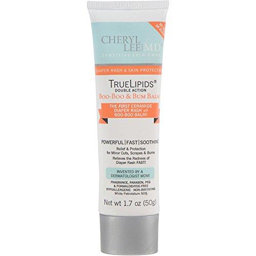 TrueLipids Double Action Balm for Skin Cuts, Scrapes, Burns & Diaper Rash