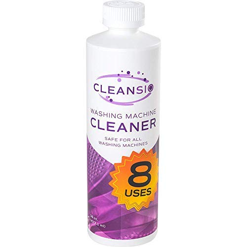 Cleansio Washing Machine Cleaner – Residue Destroyer and Odor Eliminator, 16oz