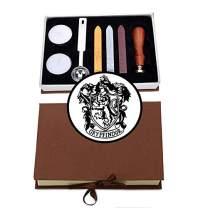 VSECUON Wax Seal Stamp Kit for Gryffindor Fans (Gryffindor KIT#2)