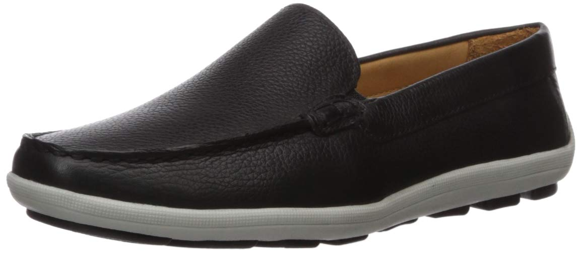 Driver Club USA Kids Boys/Girls Genuine Leather Venetian Driving Style Loafer