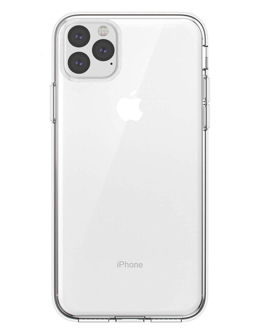 zisure 11 Pro Max Cases Crystal Clear Soft TPU Cases Slim Fit for 6.5 inch iPhone 11 Pro Max
