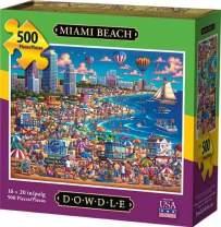 Dowdle Jigsaw Puzzle - Miami Beach - 500 Piece