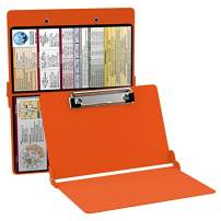 WhiteCoat Clipboard - Safety Orange - Medical Edition