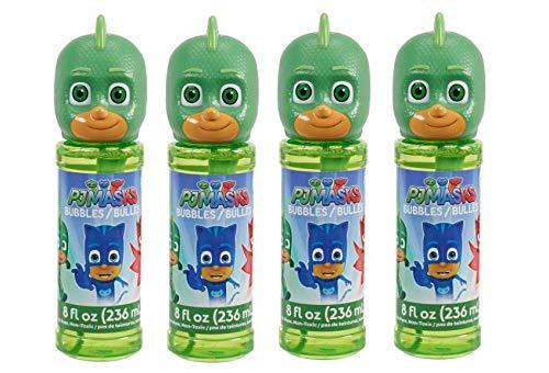Little Kids PJ Masks Bubbles & Wand Character Party Favor Pack