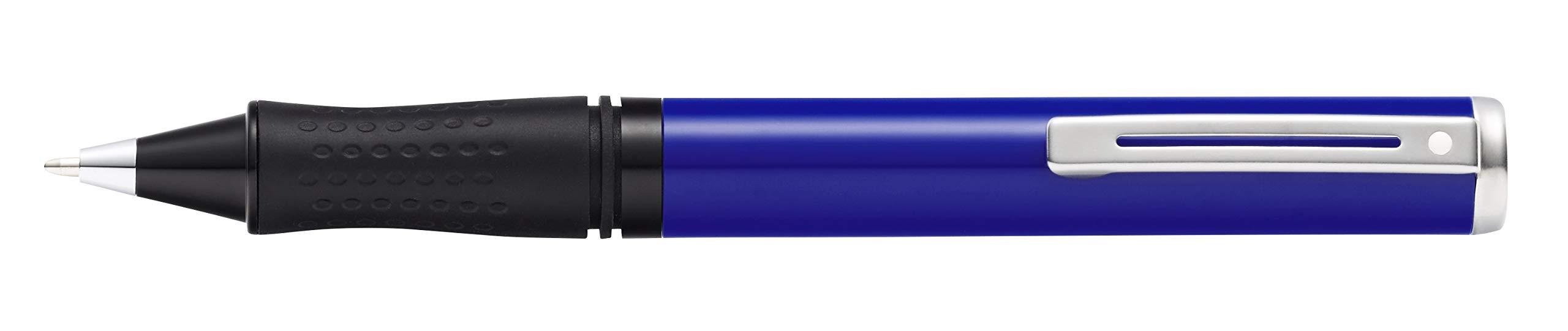 Sheaffer Pop Glossy Blue Ballpoint Pen with Chrome Trim