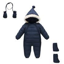 Mud Kingdom 3 Piece Baby Toddler All in One Snowsuit Romper Winter
