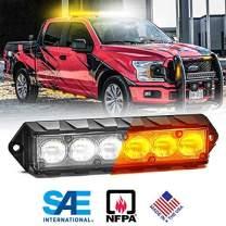 Feniex Fusion Surface Mount Dual Color LED(Amber/White, 40)