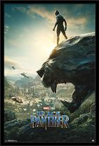"""Trends International Wall Poster One Sheet Black Panther, 24.25"""" x 35.75"""""""