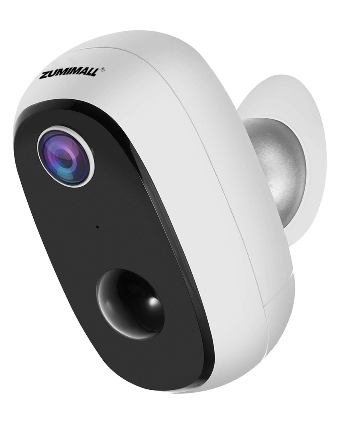 Wireless Security Camera Rechargeable Battery-Powered Home Cameras, Indoor/Outdoor WiFi Camera with 1080P Video, 2-Way Audio, Night Vision, Surveillance Camera with Motion Detection, Waterproof