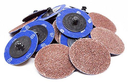 "2"" Roloc A/O Quick Change Sanding Discs 24 Grit - 25 Pack"