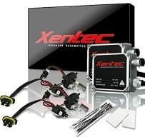 XENTEC 55W Standard Size Ballasts x 2 bundle with 2 x Xenon Bulb H4 Hi/Lo GREEN offroad w/Hi-beam Halogen (HB2/9003) offroad