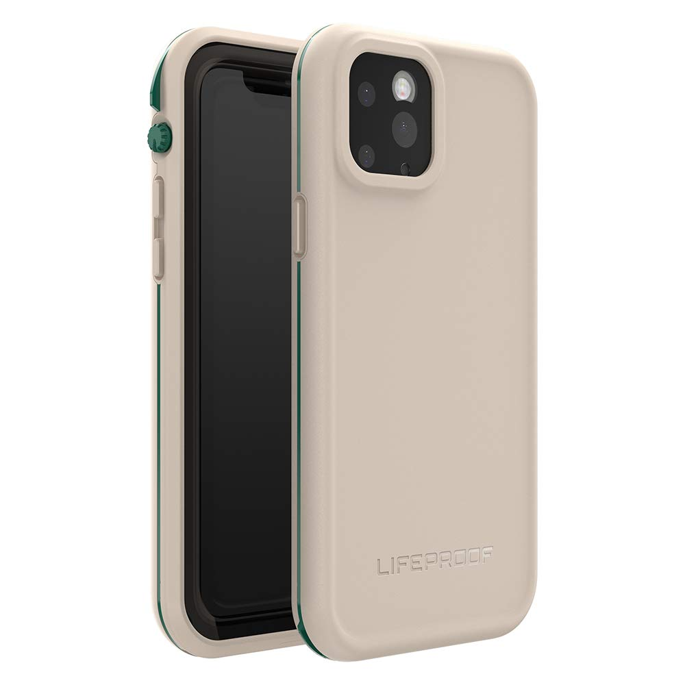 LifeProof FRĒ SERIES Waterproof Case for iPhone 11 Pro - CHALK IT UP (EVERGLADE/CHATEAU GRAY)