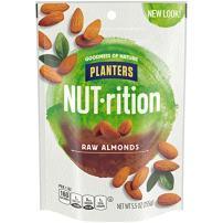 NUTrition Raw Almonds (5.5 oz Bag)