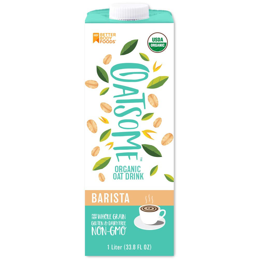 Oatsome Barista Organic Oat Drink, 6 Count