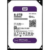 WD Purple 8TB Surveillance Hard Disk Drive - 5400 RPM Class SATA 6 Gb/s 128MB Cache 3.5 Inch - WD80PUZX [Old Version]