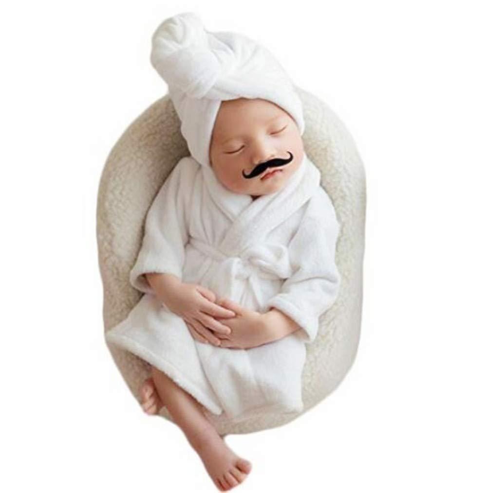 Newborn Baby Boy Girl Photography Photo Props Costume Bathrobes Bath Towel Blanket Photo Shoot
