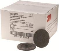 3M Scotch-Brite Roloc Surface Conditioning Disc, TR 07516, 2 in x NH S SFN, 25 per Carton