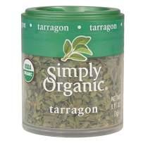 Simply Organic Tarragon Leaf, Cut & Sifted, Certified Organic | 0.11 oz | Pack of 6 | Artemisia dracunculus L.