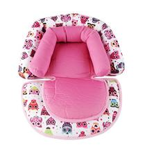 Infant Head Support for Car Seat, KAKIBLIN Baby Soft Neck Support Pillow, Pink