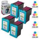 LD Remanufactured Ink Cartridge Replacement for HP 95 C8766WN (Color, 4-Pack)
