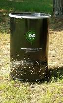 One and Done Game Feeder - Built to Last - Loads 130lbs or 250 lbs (55 Gallon Bear Proof Classic Game Feeder)