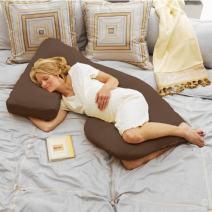 Cozy Cuddler Pregnancy Pillow - Espresso
