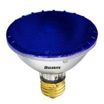 Bulbrite H75PAR30B 120V 75W PAR30 Halogen Light, Blue - 2 Pack