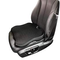 Dreamer Car Seat Cushion Seat Pad - Tailbone Pain Relief Cushion - Coccyx Cushion Sciatica Cushion Pillow for Sitting or Driving - Ideal Use in Car Seat or Office Chair (Black)