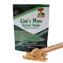 Lion's Mane Mushroom Powder Extract 8:1 Herbal CHI Chaga Cordyceps Dan Shen Mai Men Dong Yoga Breathing