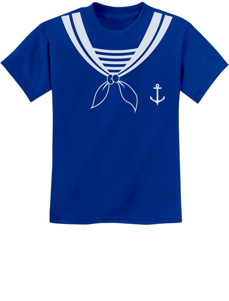 TeeStars - Halloween Sailor Costume Youth Kids T-Shirt