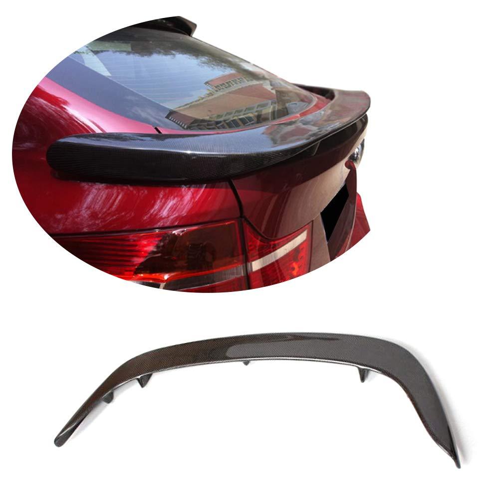 MCARCAR KIT Trunk Spoiler fits BMW X6 E71 SUV 2008-2014 Factory Outlet Carbon Fiber CF Rear Boot Lid Highkick Wing Lip