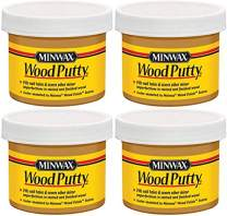 Minwax 13611000 Wood Putty, 3.75 Ounce, Golden Oak - 4 Pack