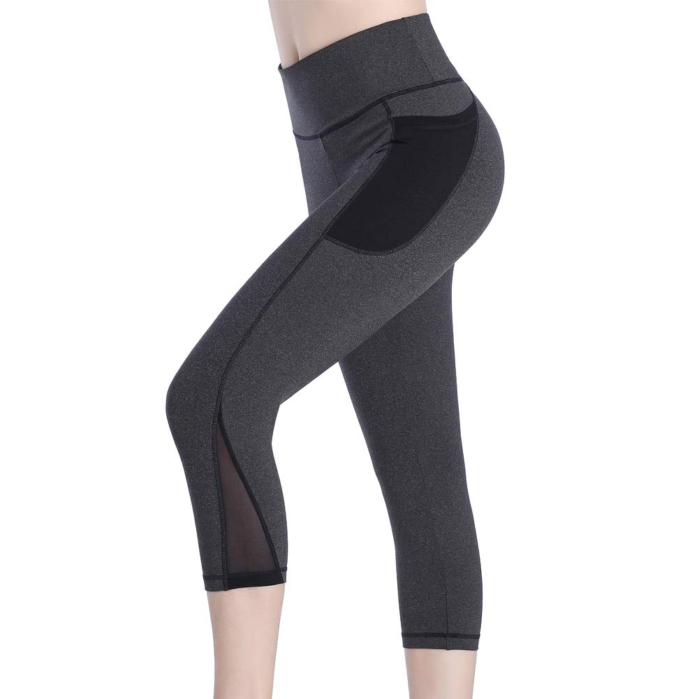 Se Yo Women's Workout Leggings Yoga Pants with Pocket Jogger Fitness Running Athletic Exercise Gym Tights