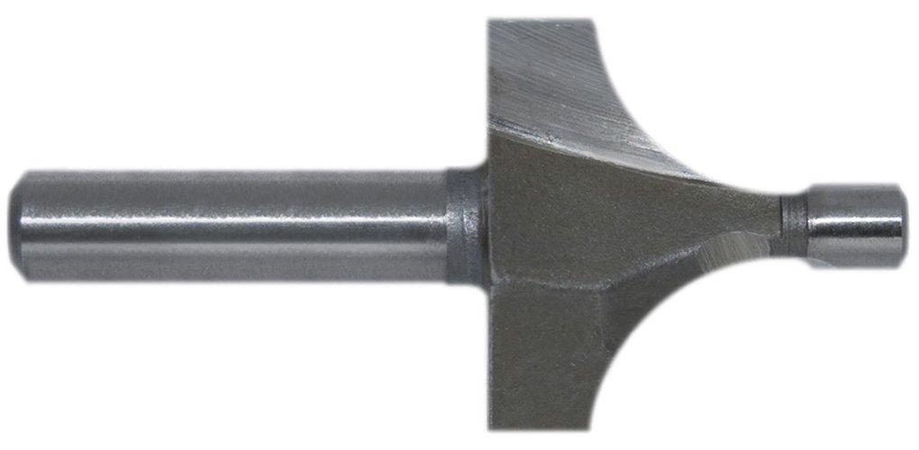 "Century Drill & Tool 39204 Corner Rounding High Speed Steel Router Bit, 3/8"""