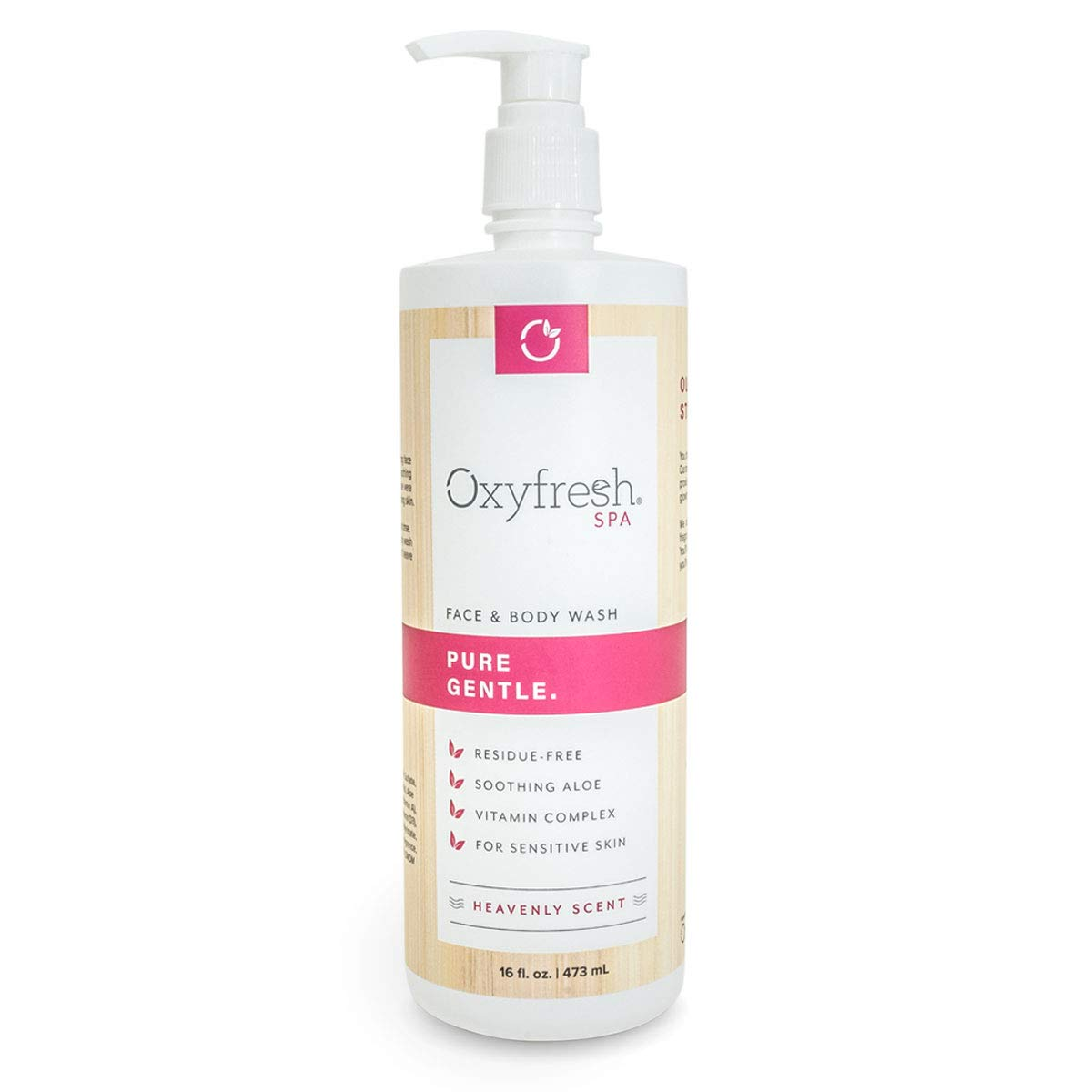 Oxyfresh Heavenly Face and Body Wash for Women — Nourish Dry Sensitive Skin with our Gentle Hydrating Cleanser and Skin Moisturizer.