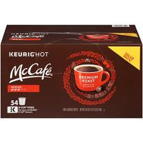 McCafe Premium Medium Roast K-Cups, 54 Count