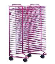 Sax Stack-a-Rack Drying Rack, Red, Powder Coated, 30 x 21 x 17 Inches - 408117