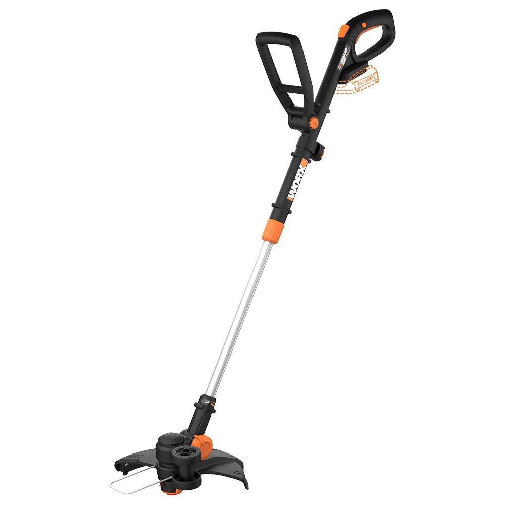 """WORX WG170.9 WG170 GT Revolution 12"""" Edger/Mini-Mower, Bare Tool Only 20V Grass Trimmer, Black and Orange"""