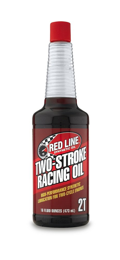 Red Line (40603-12PK) Two-Stroke Racing Motor Oil - Motorcycle High-Performance Synthetic Engine Lubricant (12 Pack Case)