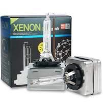 YUFANYA D1S HID Xenon Bulbs 35W 6000k Cool White Headlight Replacement Super Brightness OEM Housing Lights