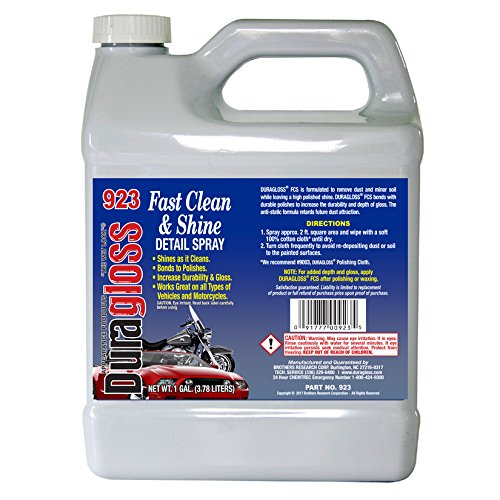 Duragloss 923 Fast Clean and Shine Detail Spray - 1 Gallon