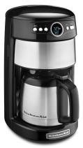 KitchenAid KCM1203OB 12-Cup Thermal Carafe Coffee Maker - Onyx Black