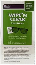 Flents Wipe N Clear Biodegradable Lens Wipes