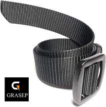 GRASEP Extremely Rigid Hard Nylon Webbing Tactical Belt CCW Gun Concealed Carry 1.5 Inch Wide